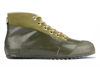 RUBBER SNEAKER MILITARY