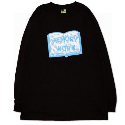 VOYAGE [MEMORY WORK L/S TEE] (BLACK)