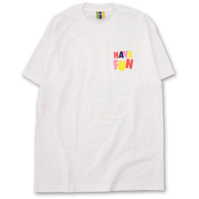 BEDLAM [HAVE FUN TEE] (WHITE)