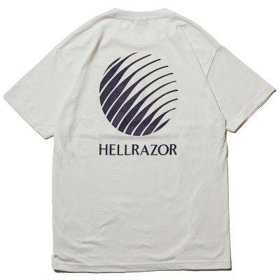 HELLRAZOR [LOGO SHIRT] (WHITE)