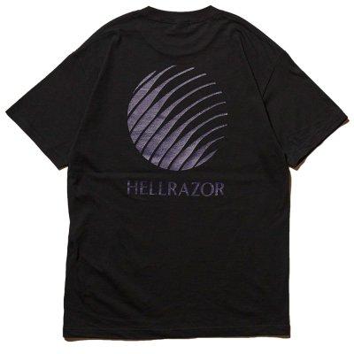 HELLRAZOR [LOGO SHIRT] (BLACK)