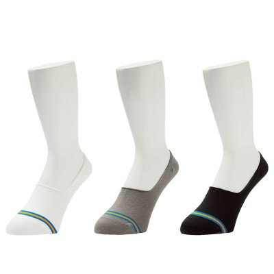 WHIMSY [NO SHOW SOCKS] (3 COLORS)