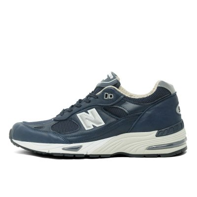 NEW BALANCE [M991NNN MADE IN ENGLAND] (NAVY BLUE LEATHER)
