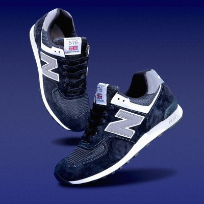 NEW BALANCE [M576PMN MADE IN ENGLAND] (NAVY)