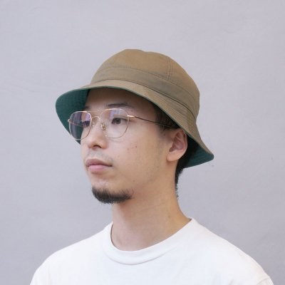 FOUND FEATHER [VEHICLE EXCLUSIVE 6PANEL SAFARI HAT] (OLIVE)