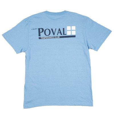 POVAL [BRUSH LOGO TEE] (SAX)