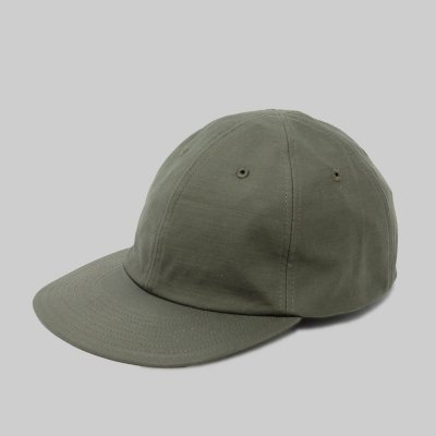 FOUND FEATHER [6 PANEL BASEBALL CAP ] (OLIVE)