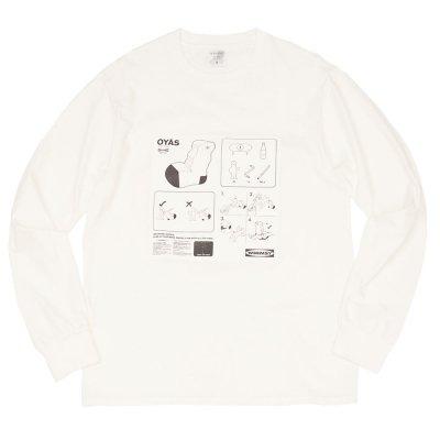 WHIMSY [OYAS L/S TEE] (WHITE)