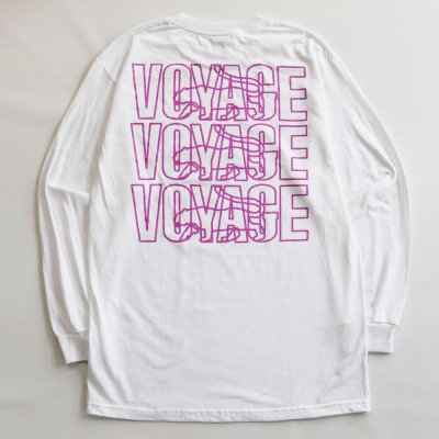 VOYAGE [PARIS L/S TEE] (WHITE)