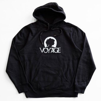 VOYAGE [LADY HOODIE] (BLACK)