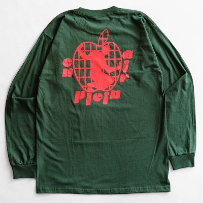 EN PLEIN AIR [APPLE L/S TEE] (HUDSON GREEN)