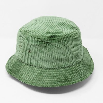 EN PLEIN AIR [WIDE WALE CORDUROY BUCKET HAT] (SAGE GREEN)