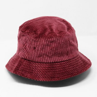 EN PLEIN AIR [WIDE WALE CORDUROY BUCKET HAT] (MAROON)