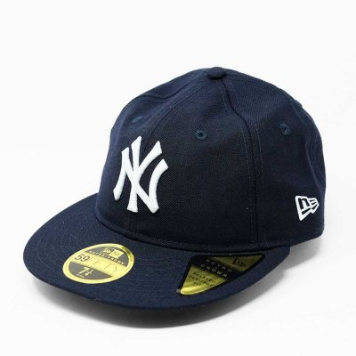 NEW ERA [RC 59FIFTY NEW YORK YANKEES] (NAVY/WHITE)