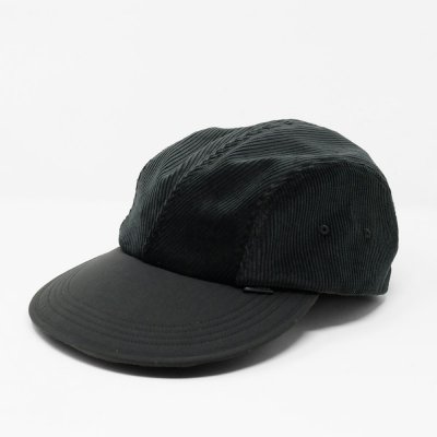 DIASPORA SKATEBOARDS [BITTER CORDS SOFT VISOR CAP](BLACK)