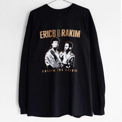 RAPTEES [ERIC B. & RAKIM PHOTO L/S TEE] (BLACK)
