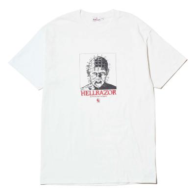 HELLRAZOR [HELLRAZOR x MOONEY NY TEE] (WHITE)