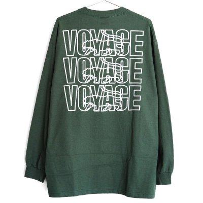 VOYAGE [PARIS L/S TEE] (GREEN)