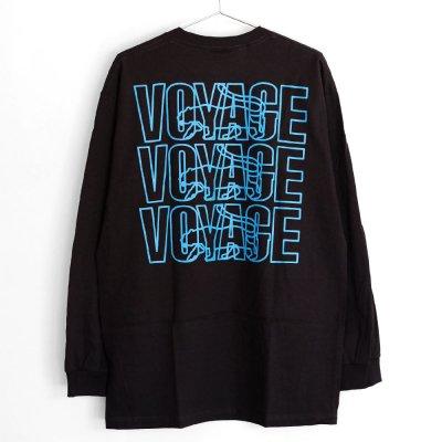 VOYAGE [PARIS L/S TEE] (BLACK)