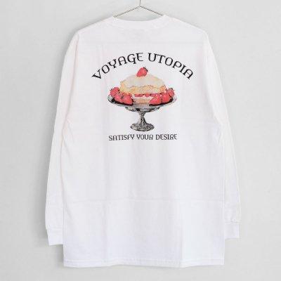 VOYAGE [CAKE L/S TEE] (WHITE)