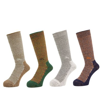 WHIMSY [DOUBLE JAQUARD EMJAY SOCKS] (4 COLORS)