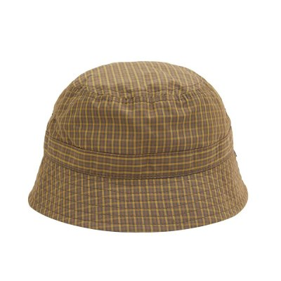 WHIMSY [PLAID CORDURA NYLON HAT] (BROWN)