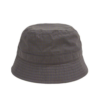 WHIMSY [PLAID CORDURA NYLON HAT] (NAVY)