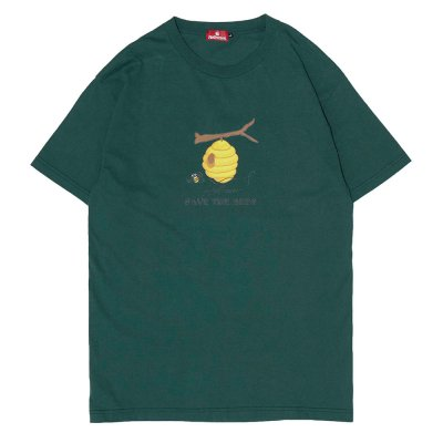 HELLRAZOR [SAVE THE BEES SHIRT] (FOREST GREEN)
