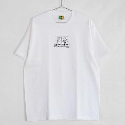 BEDLAM [FROOTY S/S TEE] (WHITE)
