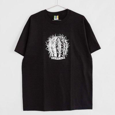 BEDLAM [CACTUS S/S TEE] (BLACK)