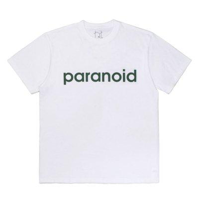 POVAL [PARANOID TEE] (WHITE)