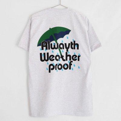 VOYAGE [x ALWAYTH  RAIN TEE] (ASH GREY)