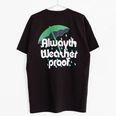 VOYAGE [x ALWAYTH  RAIN TEE] (BLACK)