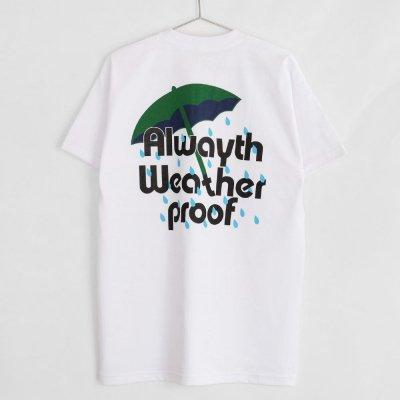 VOYAGE [x ALWAYTH  RAIN TEE] (WHITE)