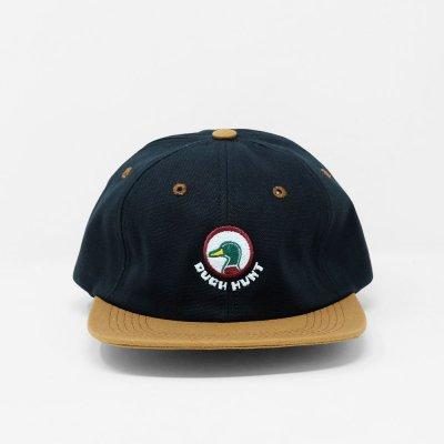 VOYAGE [x ALWAYTH DUCK HUNT 6 PANEL HAT] (BLACK x CARMEL)