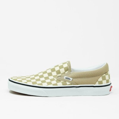 VANS [CLASSIC SLIP-ON VN0A33TB43A] (CHECKERBOARD) INCENSE