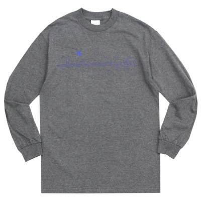 WHIMSY [CITY LIGHT L/S TEE] (CHARCOAL HEATHER)