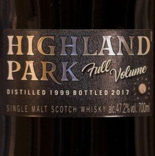 ハイランドパーク フルボリューム [1999-2017]