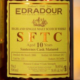 エドラダワー SFTC 10年[2006] ソーテルヌカスク・マチュアード