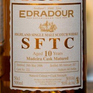 エドラダワー SFTC 10年[2006] マデイラカスク・マチュアード