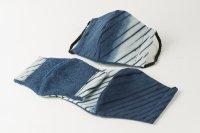 藍染マスク 絞り 限定品(数に限りがございます。)