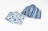 藍染マスク絞り5柄 限定品(数に限りがございます。)