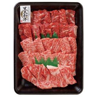 【8】上焼肉盛り合わせ(ハラミ、上カルビ、上ロース)500g