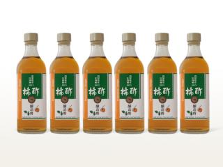 柿醸造酢(2年熟成) 6本セット