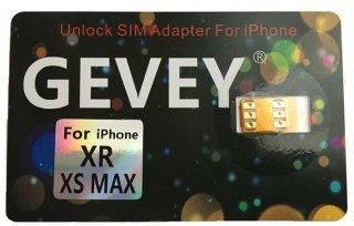 【iPhone12/11/XS Max/XR 専用】GEVEY SIMロック解除アダプターdocomo/au/SoftBank版 SIMロック解除アダプタ対応 Unlock SIMフリー