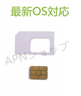 【DM便送料無料】【最新OS対応】AU iPhone5/5c/5s専用 NanoSIMサイズカード アクティベートカードactivationアクティベーション