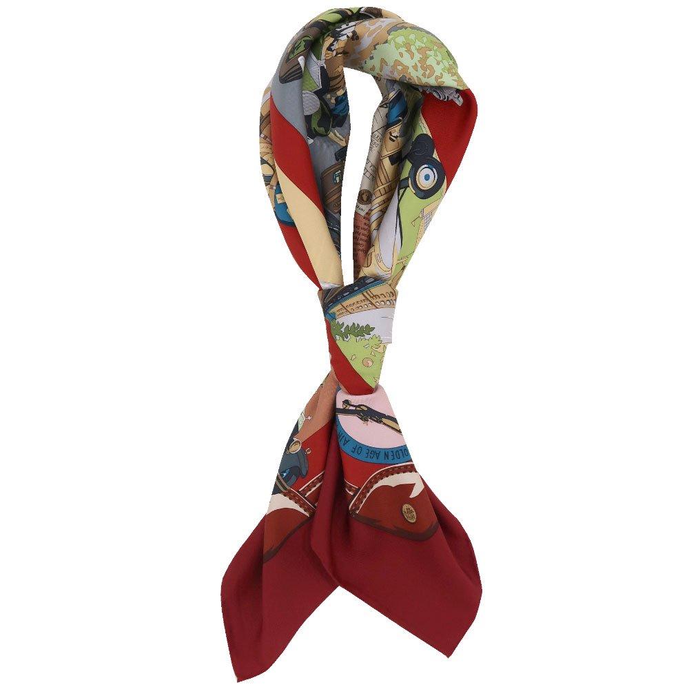 トラベル(CM6-836) 伝統横濱スカーフ 大判 シルクツイル スカーフの画像13