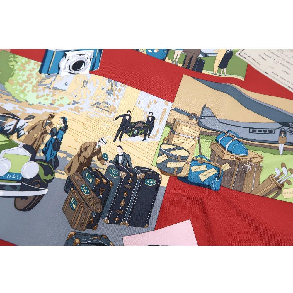 トラベル(CM6-836) 伝統横濱スカーフ 大判 シルクツイル スカーフの画像15