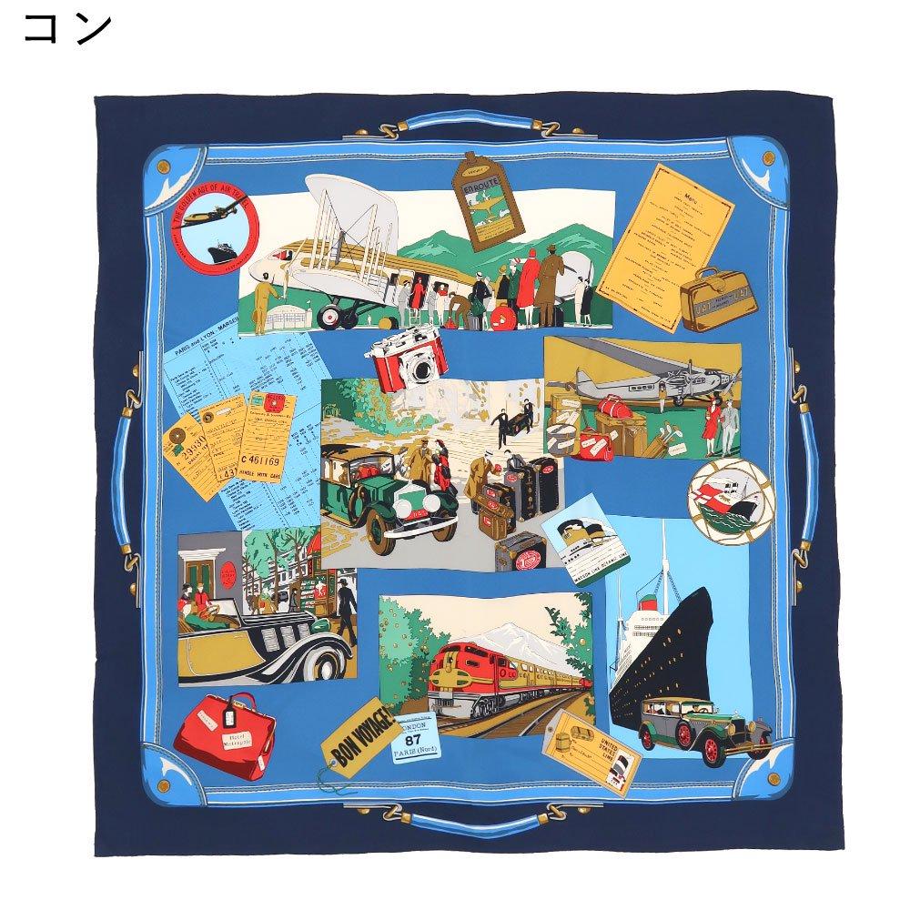 トラベル(CM6-836) 伝統横濱スカーフ 大判 シルクツイル スカーフの画像2