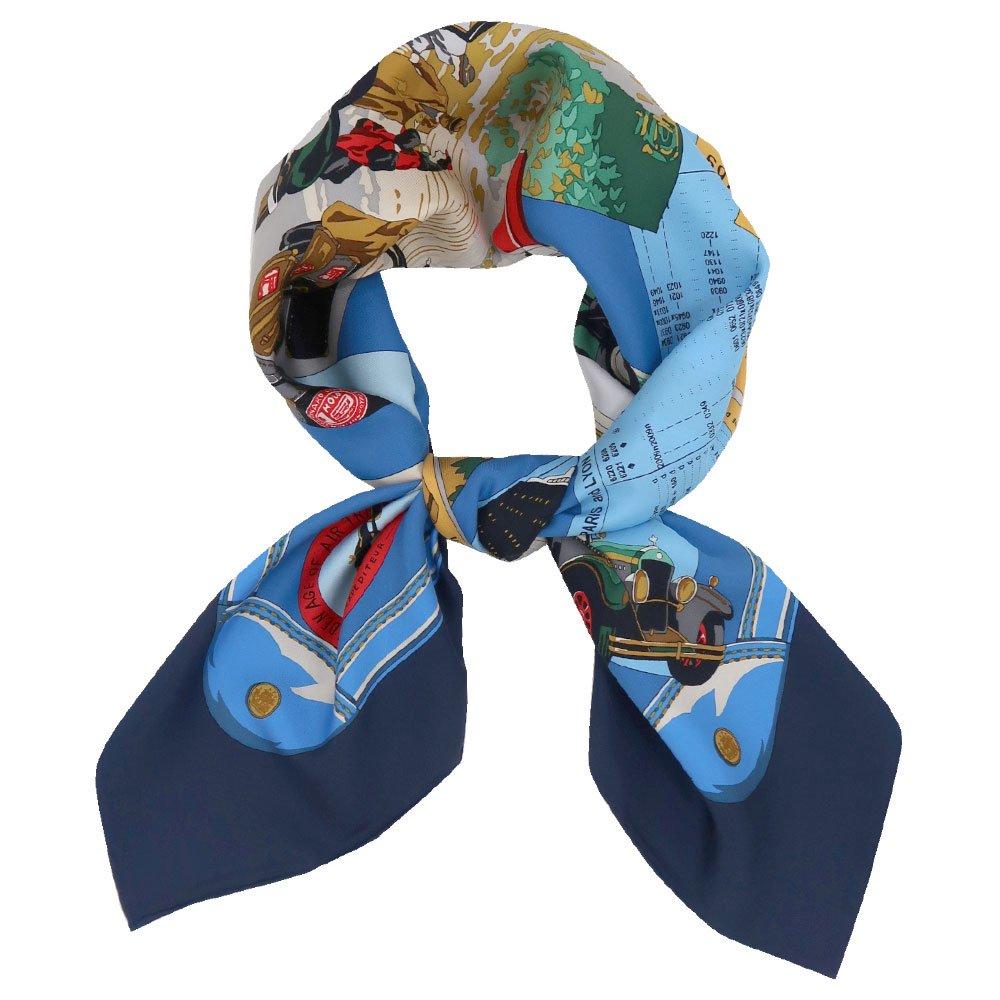 トラベル(CM6-836) 伝統横濱スカーフ 大判 シルクツイル スカーフの画像3
